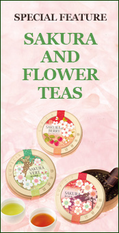 Limited Edition Sakura (Cherry Blossom) & Flower Teas