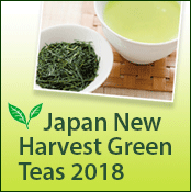 Japan New Harvest Green Teas 2018