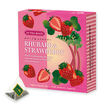 Tea Bag Rhubarb & Strawberry Limited Edition