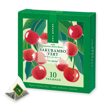 Tea Bag Sakurambo Vert Limited Edition 2021