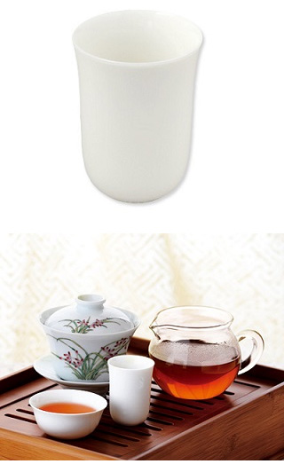 Chinese Tasting Cup White