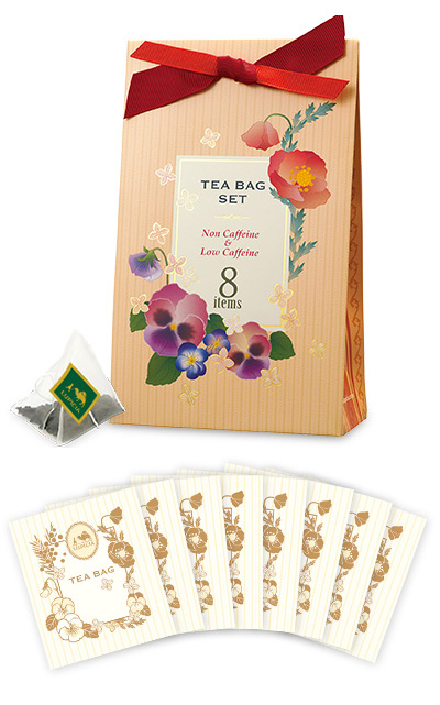 Tea Bag Set 8 (Non Caffeine & Low Caffeine)