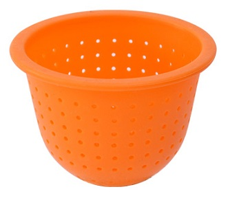 Silicon Strainer Orange