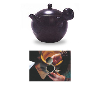 Japanese Tea Pot Black