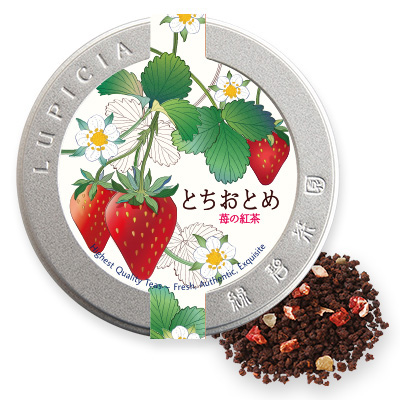 Tochiotome Black Tea Special Label Tin