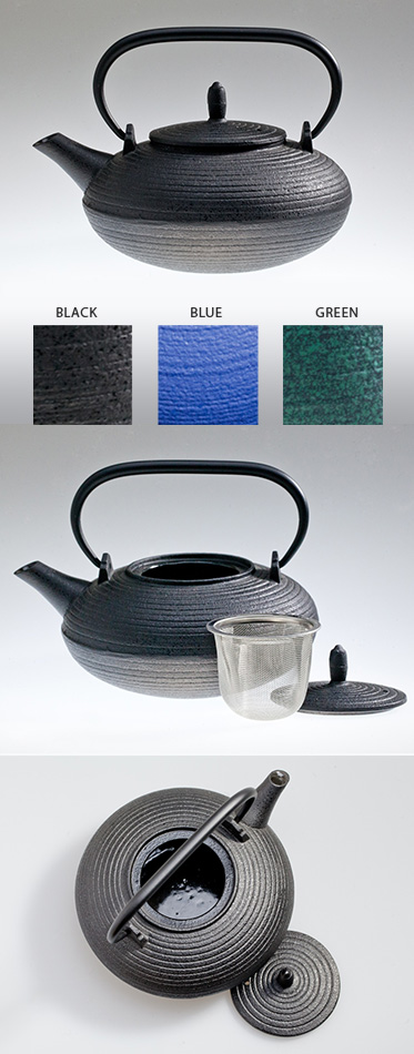 ITOME S - Cast Iron Tea Pot