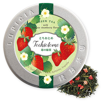 Tochiotome Green Tea Special Label Tin