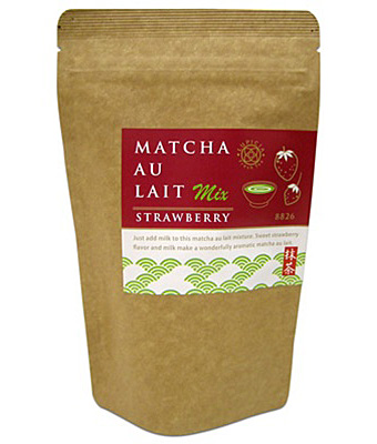 Matcha Au Lait Strawberry - Green Tea Latte