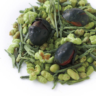 Matcha Black Soybean Rice Tea