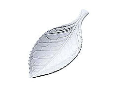 Tea Caddy Spoon 'Leaf'