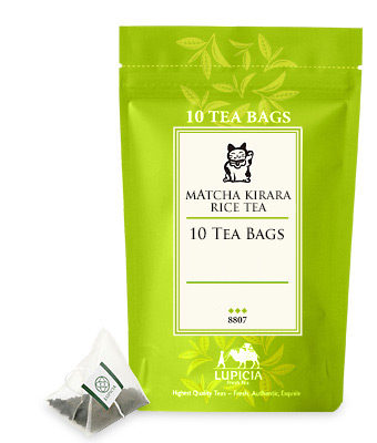 Tea Bag 8807 Matcha Kirara Rice Green Tea