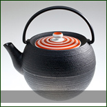 MARUDAMA CAST IRON TEA POT