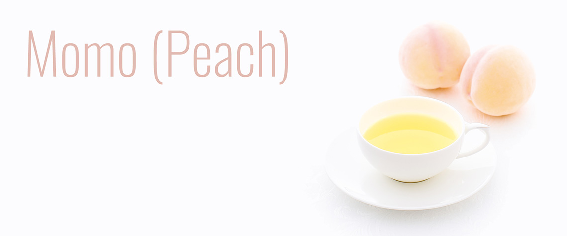 Momo (Peach) Themed Premium Teas